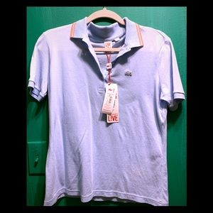 NEW tag Lacoste-France via Macy's, Lt blue, Girl L